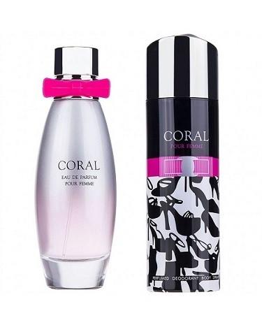 1 780x975 - ست ادو پرفيوم زنانه امپر پرايو مدل Coral Pour Femme حجم 95 ميلي ليتر