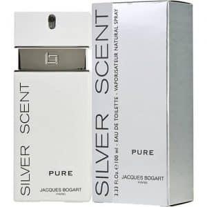 ادو تويلت مردانه ژاک بوگارت مدل Silver Scent Pure حجم 100 ميلي ليتر