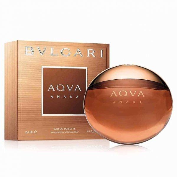 ادو تويلت مردانه بولگاري مدل Aqva Amara حجم 100 ميلي ليتر