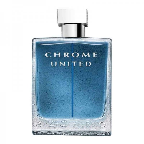 perfume azzaro chrome united eau de toilette for men 100ml 600x600 - ادو تويلت مردانه آزارو مدل Chrome United حجم 100 ميلي ليتر