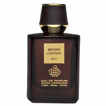 ادو پرفيوم مردانه فراگرنس ورد مدل Brown Leather حجم 100 ميلي ليتر
