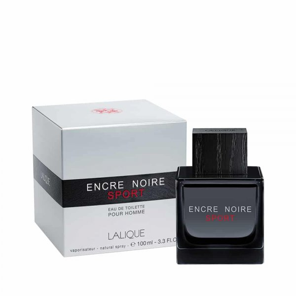 ادو تويلت مردانه لاليک مدل Encre Noire Sport حجم 100 ميلي ليتر