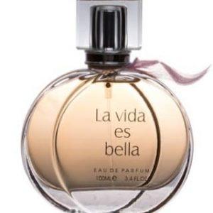 ادو پرفيوم زنانه فراگرنس ورد مدل La Vida Es Bella حجم 100 ميلي ليتر