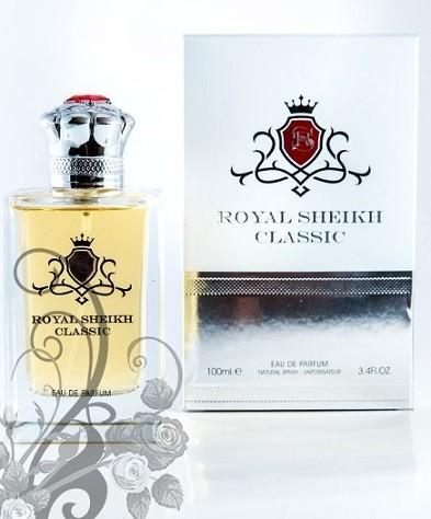 ادو پرفیوم مردانه فراگرنس ورد مدل Royal Sheikh Classic حجم 100 میلی لیتر