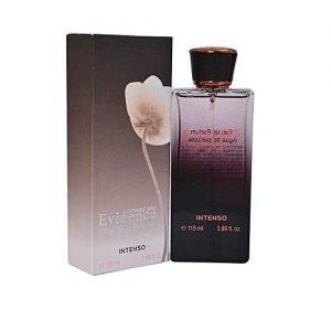 fragrance evidence intenso box 300x300 - ادوپرفیوم زنانه فراگرنس ورد مدل Evidence حجم 115 میلی لیتر