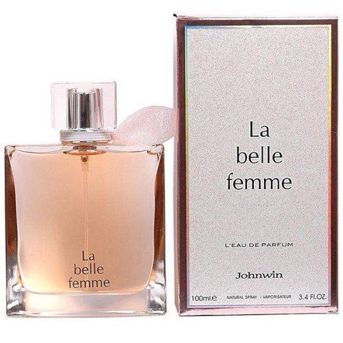 ادو پرفیوم زنانه جانوین مدل La belle Femme حجم 100 میلی لیتر