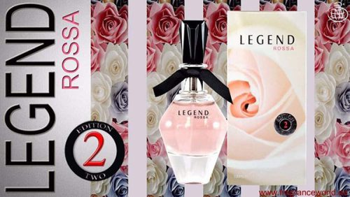 ادکلن زنانه فراگرنس لجند رزا (Fragrance World Legend Rosa 2) حجم 100 میل