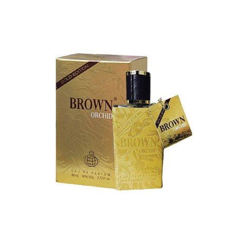 عطر مردانه فراگرنس ورد برون ارکید گلد ادیشن (BROWN ORCHID gold edition) حجم 100 میل