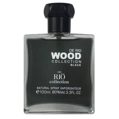 ادو پرفیوم مردانه ریو کالکشن مدل Rio Wood Black حجم 100ml